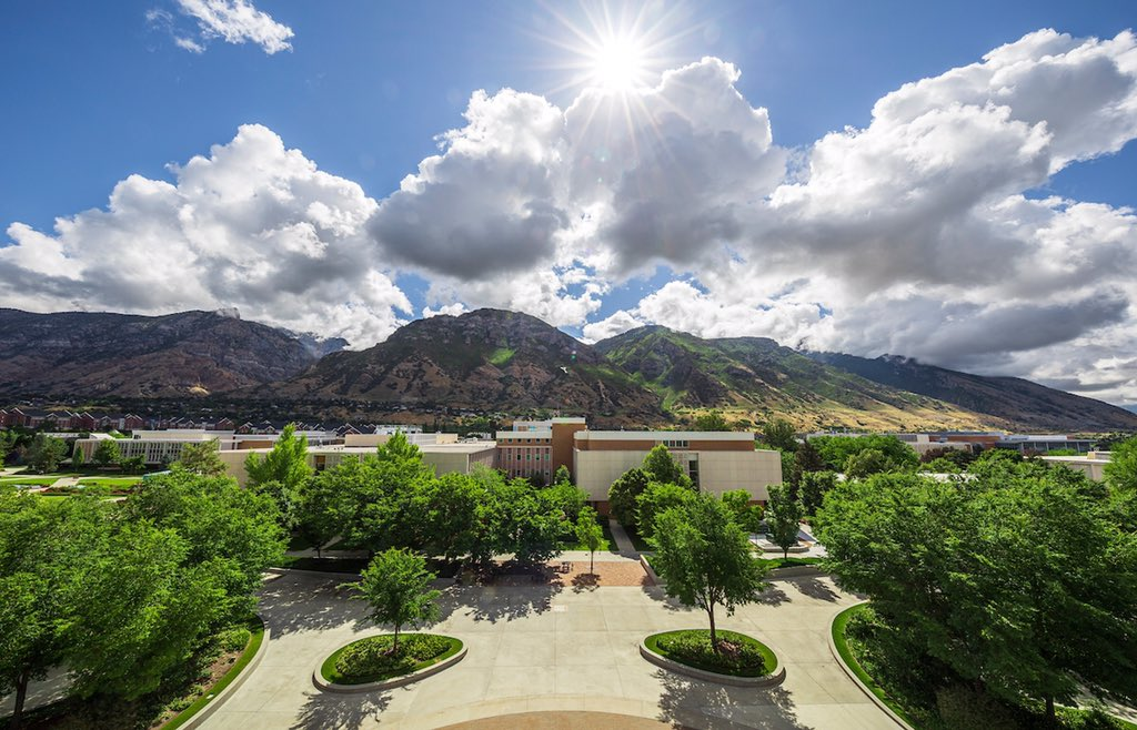 First day of Summer Term. While students continue remote learning, @BYUphoto is here to provide the view. https://t.co/org1iJGtnL