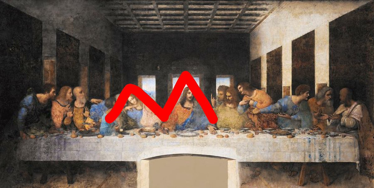 Da Vinci could have possibly known about this demonic plot. And so he put subliminal messages about Ann Marie's real name in his paintings. Look for yourselves.