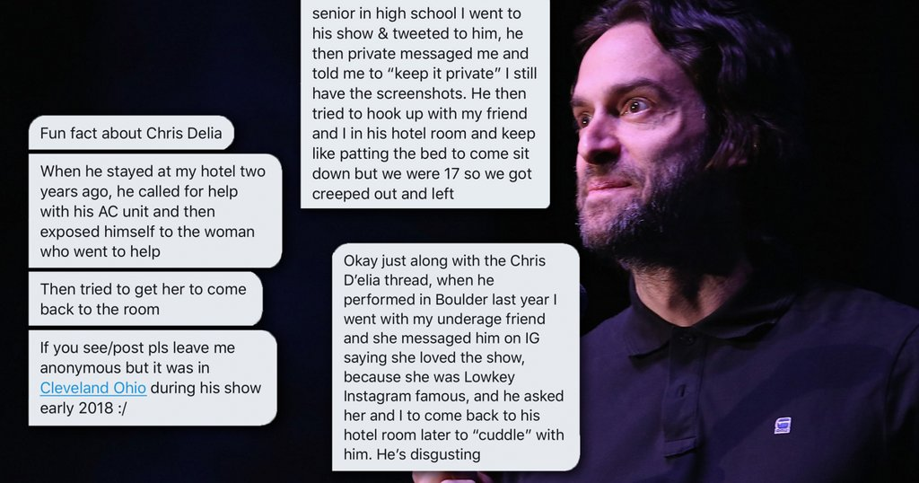 Chris D'Elia and the rise of Twitter as a platform to call out sexual predators