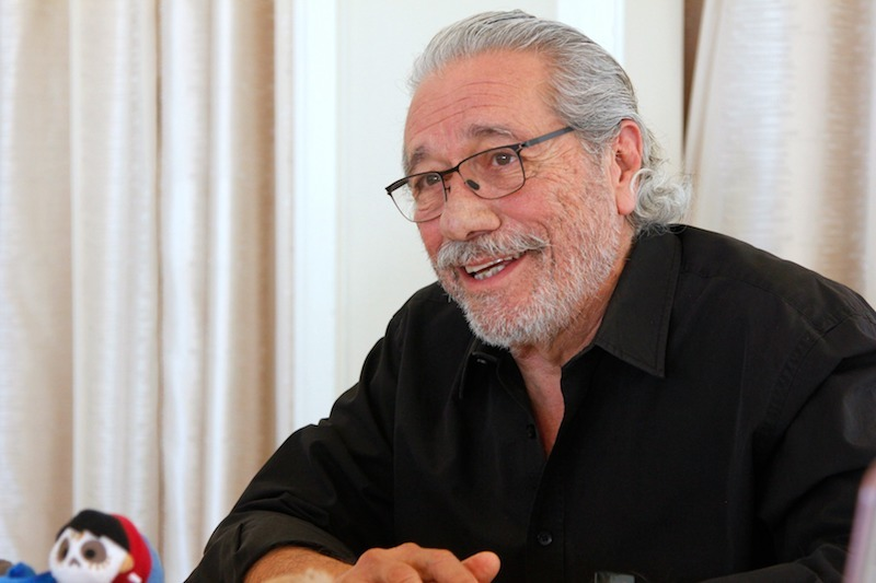 Interview With Edward James Olmos, the Voice of Chicharron in #COCO, is emotional & life-changing. #PixarCocoEvent #HeartThis #PixarCoco @DisneyPixar https://t.co/R68Wu39Q5x https://t.co/Q0fedfGiZo