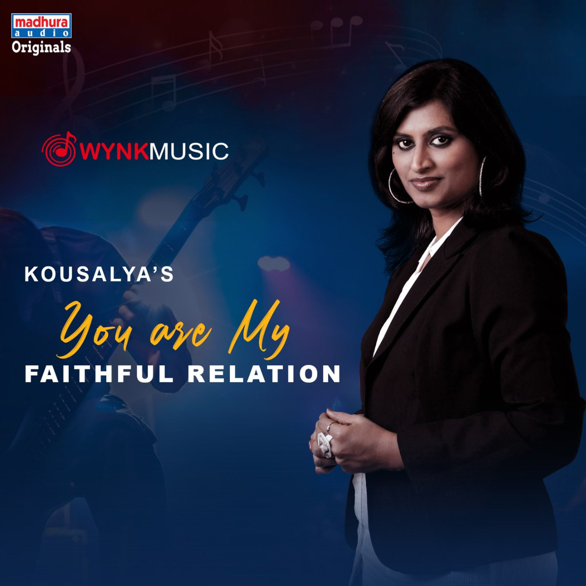 Talented Singer @Kousalyapotturi's #YouAreMyFaithfulRelation IS Streaming On Your Favorite OTT App  @WynkMusic:  https://wynk.in/music/song/you-are-my-faithful-relation/srch_believe_A10320WT0344489688…pic.twitter.com/6ElVLjaKh4