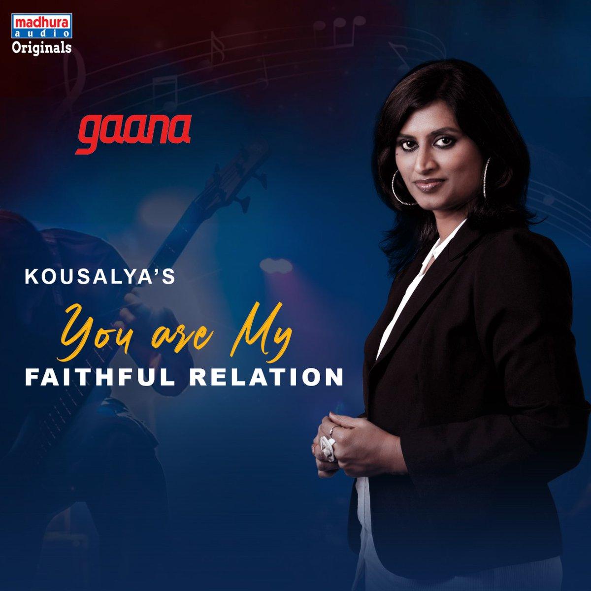 Talented Singer @Kousalyapotturi's #YouAreMyFaithfulRelation IS Streaming On Your Favorite OTT App  @gaana: https://gaana.com/song/you-are-my-faithful-relation…pic.twitter.com/Y11NQHvGfZ