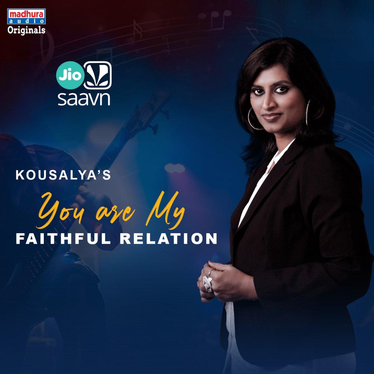 Talented Singer @Kousalyapotturi's #YouAreMyFaithfulRelation IS Streaming On Your Favorite OTT App  @JioSaavn: https://www.jiosaavn.com/song/you-are-my-faithful-relation/QAsYfCR2Z3E…pic.twitter.com/5f2eBi0Z4n