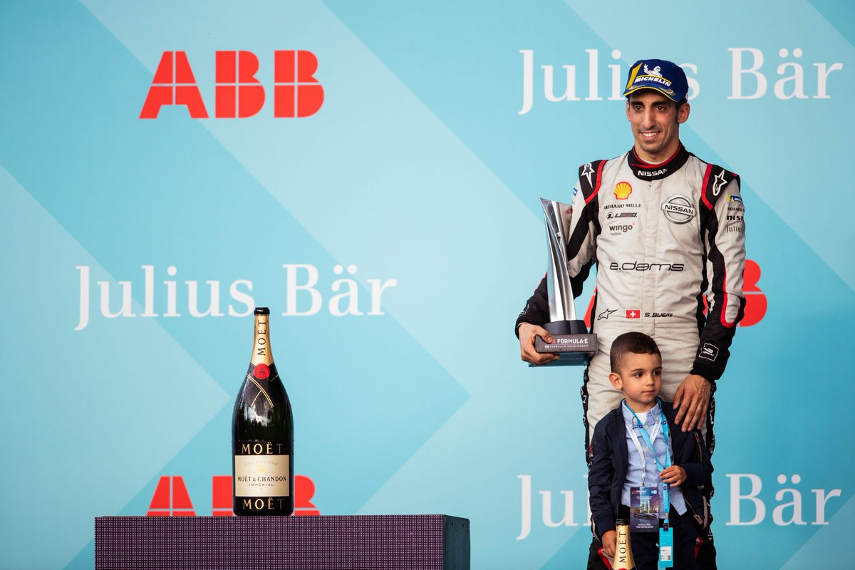 This time last year was quite special for @Sebastien_Buemi with a podium on home ground in front of his family at the @FIAFormulaE #SwissEPrix 🤗  @Nissan #NissanFormulaE #IntelligentMobility https://t.co/KIHzgtvuKq
