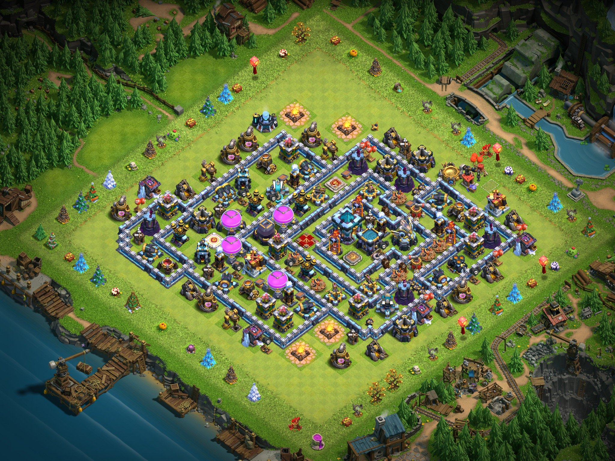 House Of Clashers On Twitter Clash Of Clans Village Skin Giveaway Clashy Constructs Scenery U 7 Through Paypal To Enter Follow Retweet Bonus Optional Subscribe To House Of