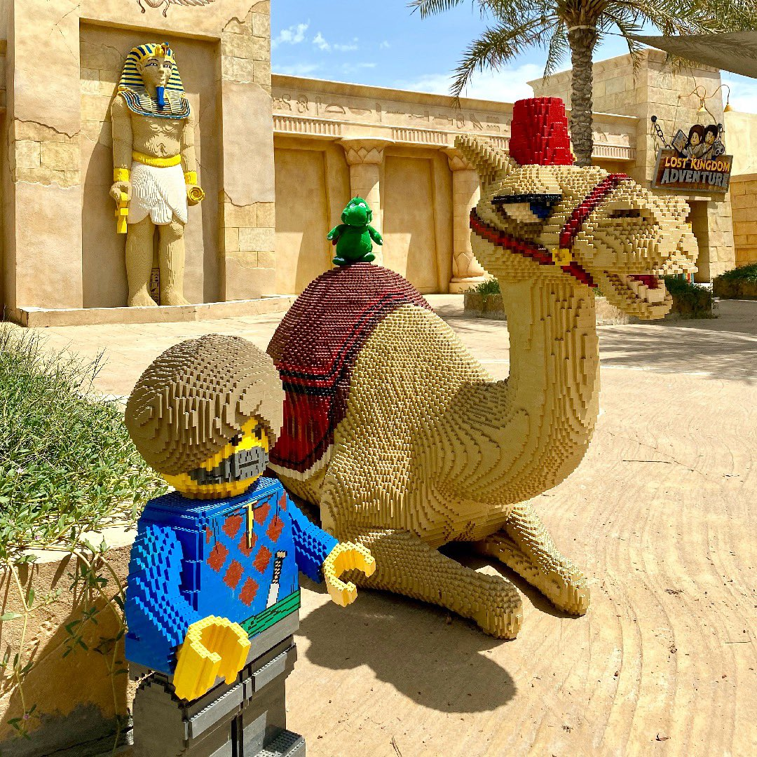 Hello boys & girls! Ollie the dragon here! Today I'm in ADVENTURE and taking a ride on the LEGO Camel! Do you have a picture with him from your visit to #LEGOLANDDubai? Remember to share them and use #YesLEGOLAND so we can share!  - Ollie 🐉 #OllieExplores https://t.co/GepG27Av9q