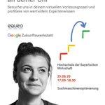 Image for the Tweet beginning: #GoogleZukunftswerkstatt an der #HDBW: Nehmt