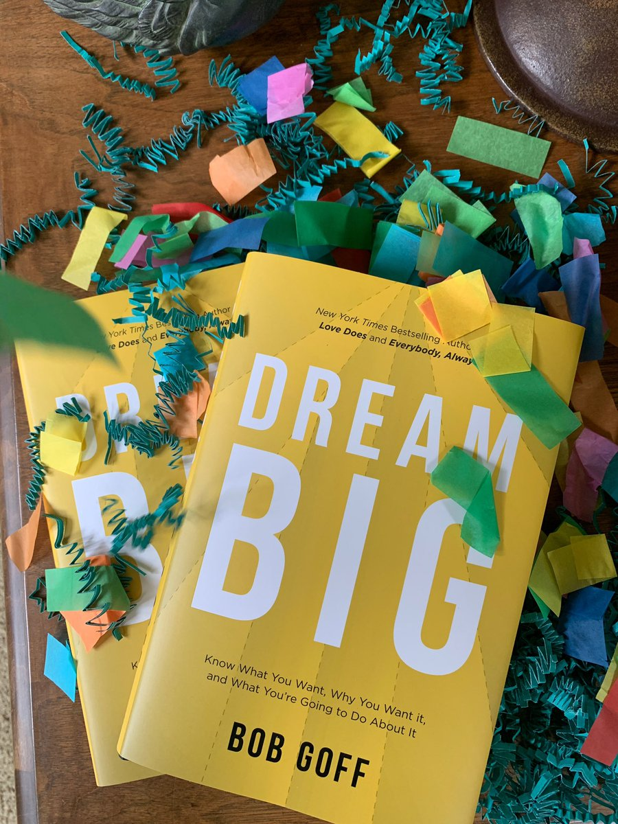 Tomorrow is release day for my newest book. I really hope you'll enjoy it. #DreamBigBook 6.23.20