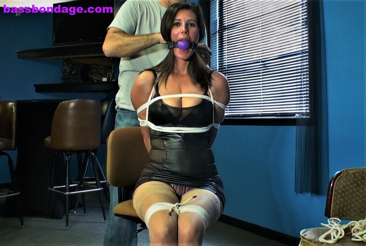 Bound and punished by my husband