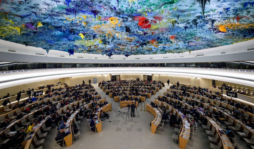 #UN #HRC43 has just adopted by consensus Resolution on Prevention of #genocide, sponsored by #Armenia. Most grateful to all cosponsors and members of the Council. #Armenia continues to promote this important topic in intl agenda #NeverAgain https://t.co/5msduZJjld