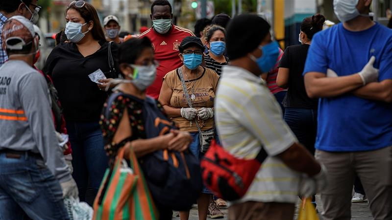 Spare a thought for friends in #LatinAmerica with >2 million cases of #coronavirus now confirmed in the region and numbers still rising quickly. We know from our own experience here in the UK how economically and emotionally tough it will be for you all. Together we will beat it. https://t.co/OrNKx16AGC