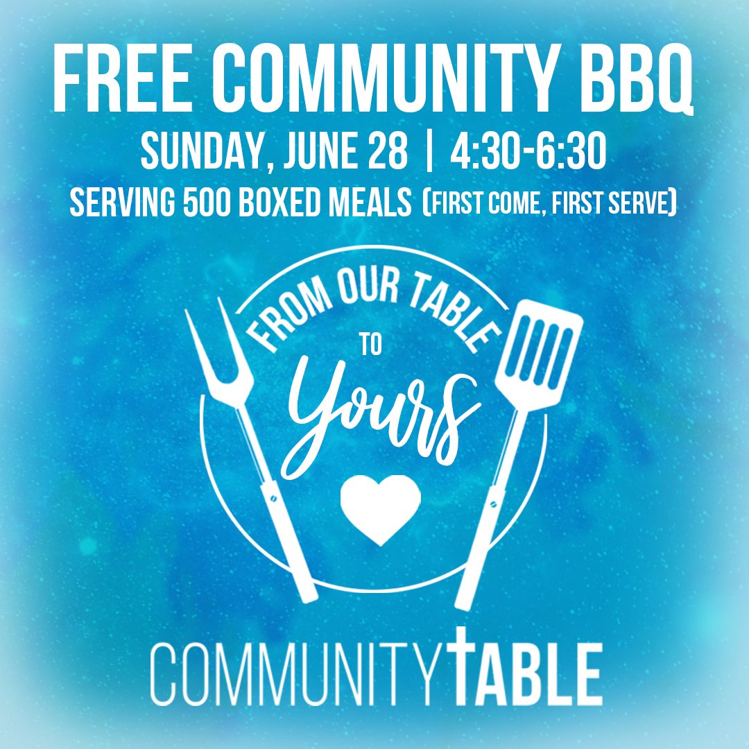 Join us at the Sherburne County Fairgrounds for burgers, hotdogs, & a few other yummy sides! We're doing drive through style meals - drive up, get your food, & go; OR stay & have a picnic at the fairgrounds - it's up to you! #CommunityTableMN #FromOurTableToYours #CommunityBBQ https://t.co/yK7AjEvw4X