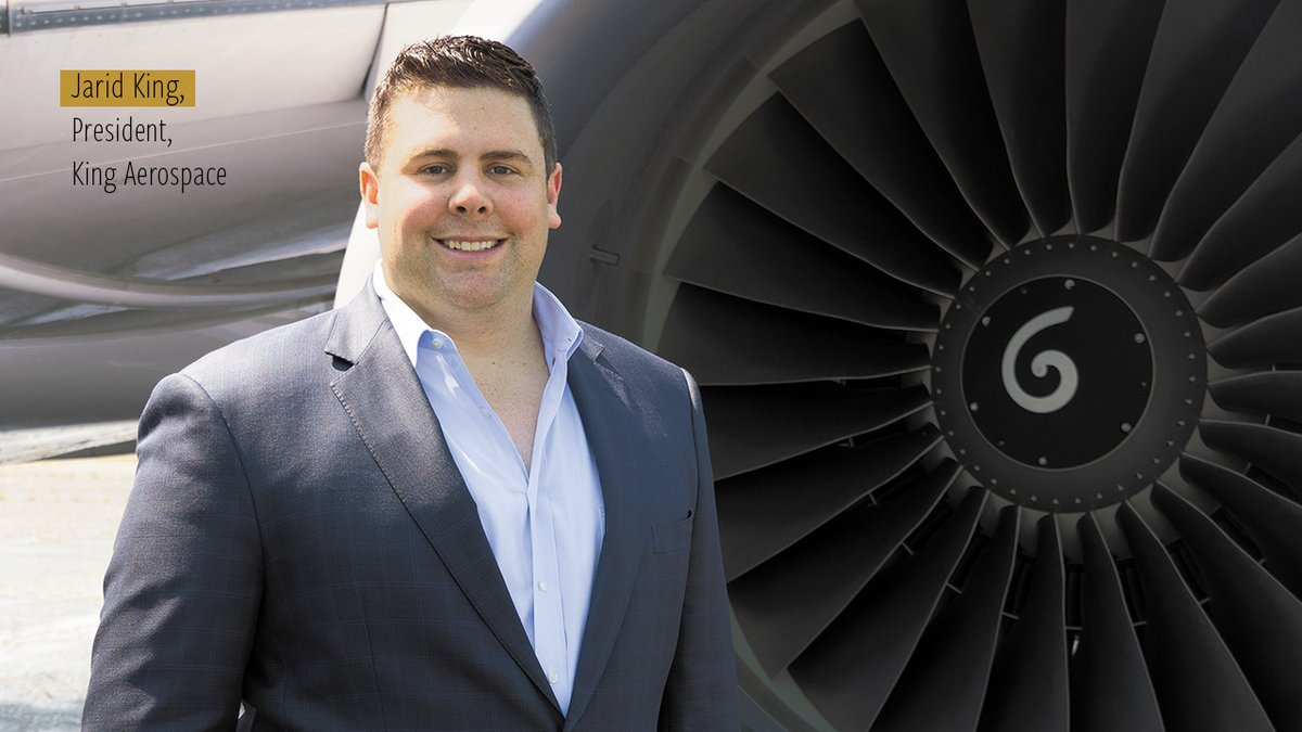 Building on success: Jarid King, President of King Aerospace, talks about leading the company out of shutdown and growing the business in the 'new normal' https://t.co/7fcGk6zQA5 @KingAerospace #JaridKing #KingAerospace @Boeing @BoeingAirplanes #BAM #BizAvMag #BizAv #COVID19 https://t.co/g2QZC5uW23