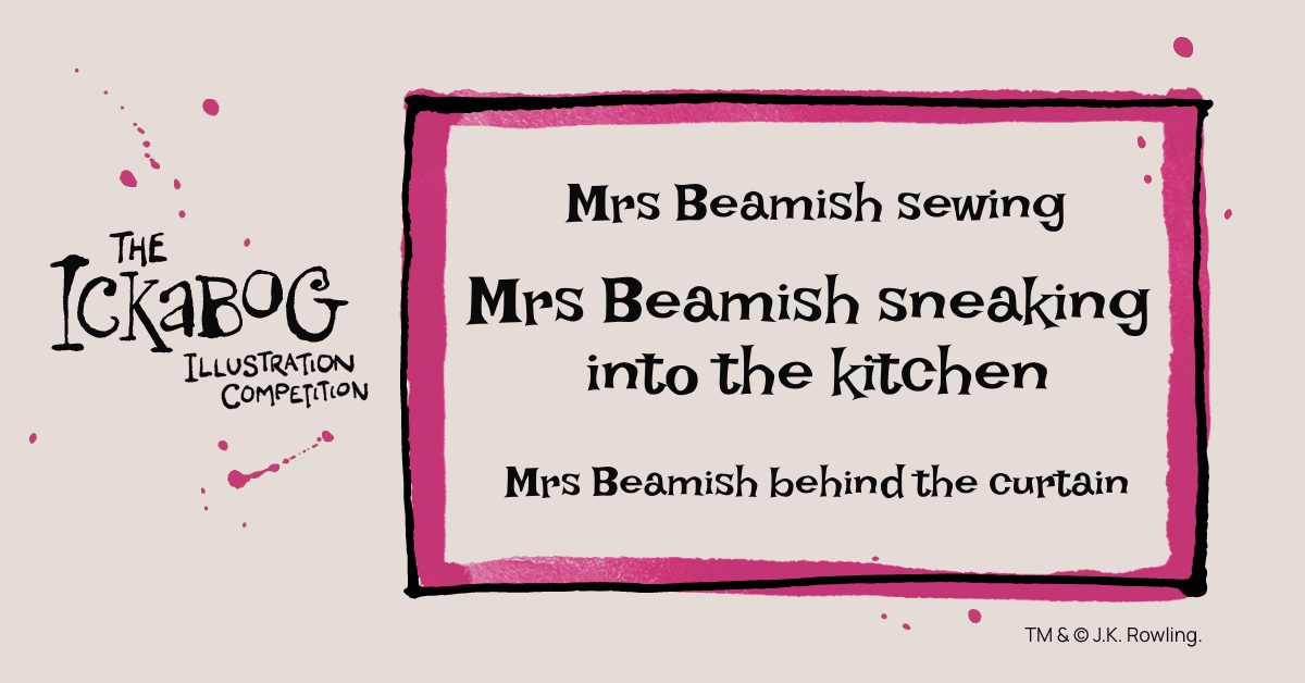 Mrs Beamish has been busy… where will you draw her? #TheIckabog