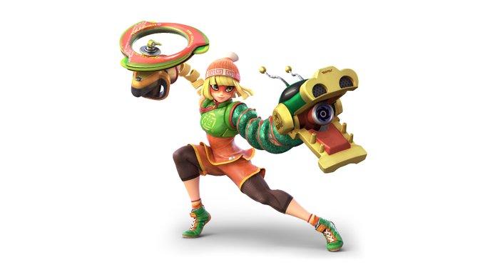 EbHzlPRUMAEzDHh?format=jpg&name=small - Sakurai reveló que Min Min llegará a Smash Bros Ultimate