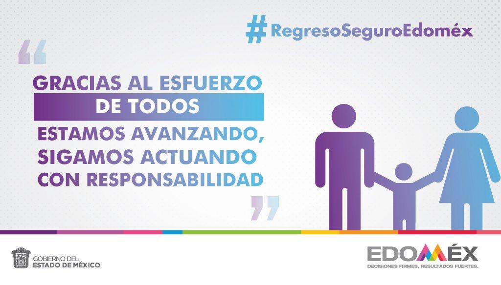 RT @alfredodelmazo: Gracias al esfuerzo de todos, estamos avanzando. #RegresoSeguroEdoméx. https://t.co/WJ76O4nx0Z
