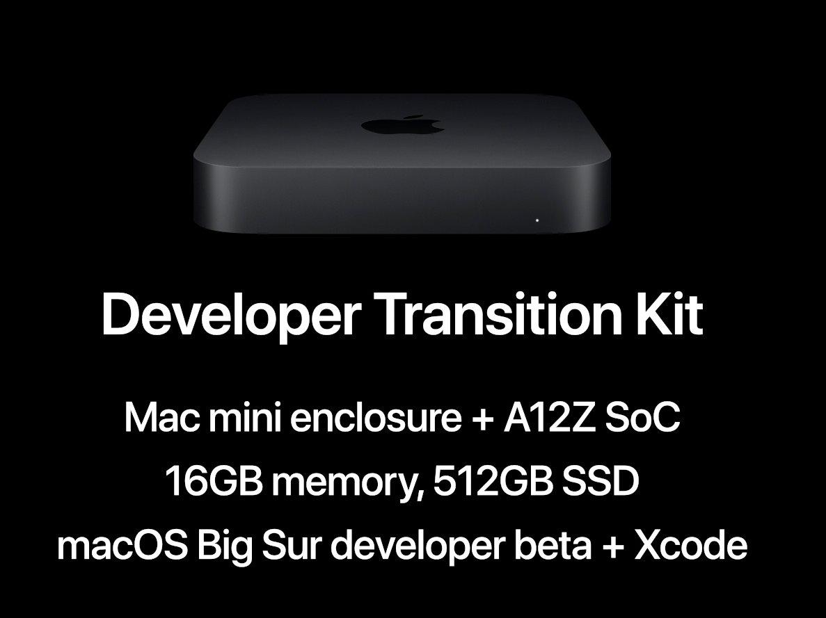 Apple、MacをArmベース「Apple Silicon」に A12Z搭載Mac miniを開発者 ...