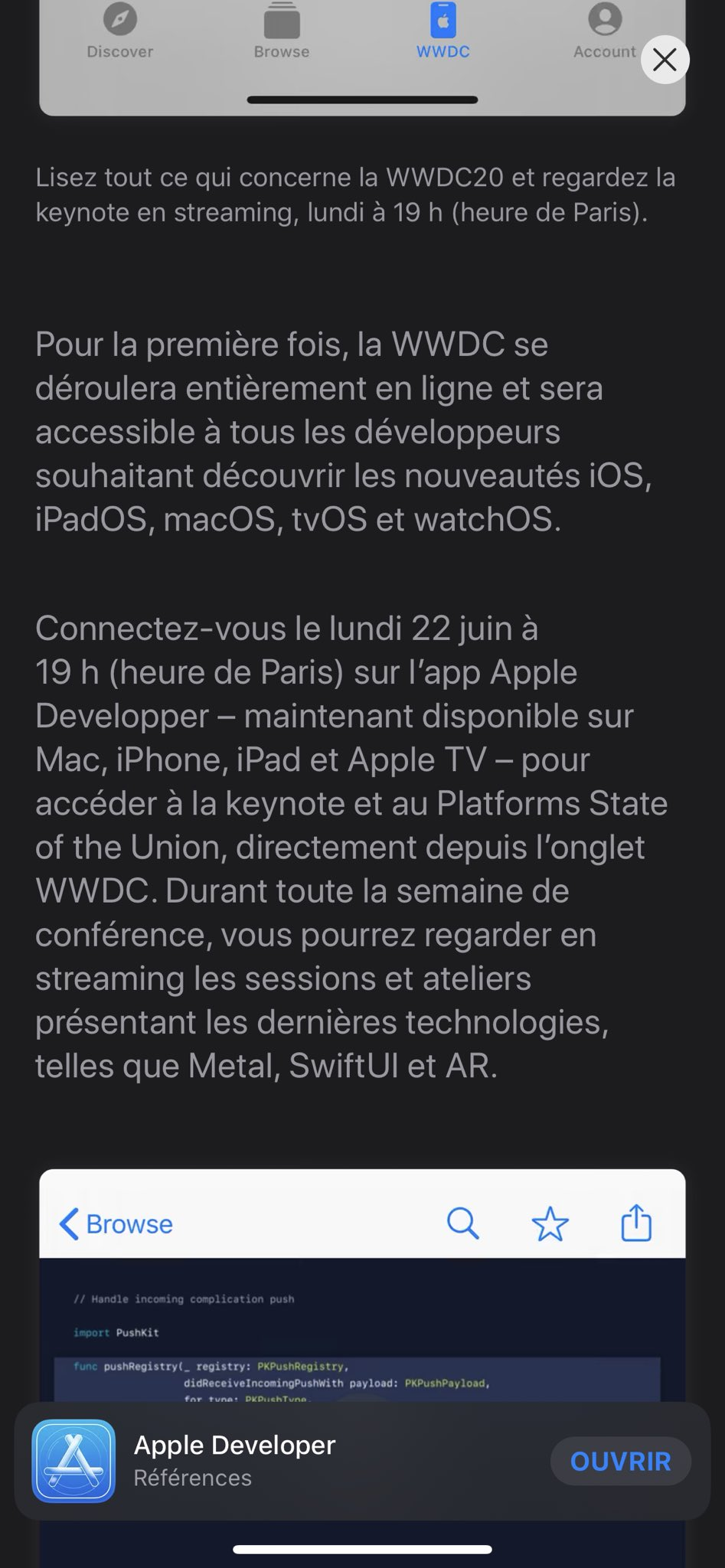 Gozav On Twitter What La Keynote Sur Appstore En Mode Officiel Apple Je Dis Non Cc Ggete