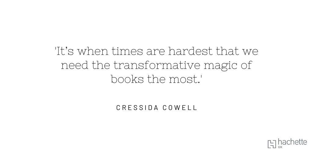 #IndieBookshopWeek @HachetteKids @booksaremybag@CressidaCowell @UKLaureate