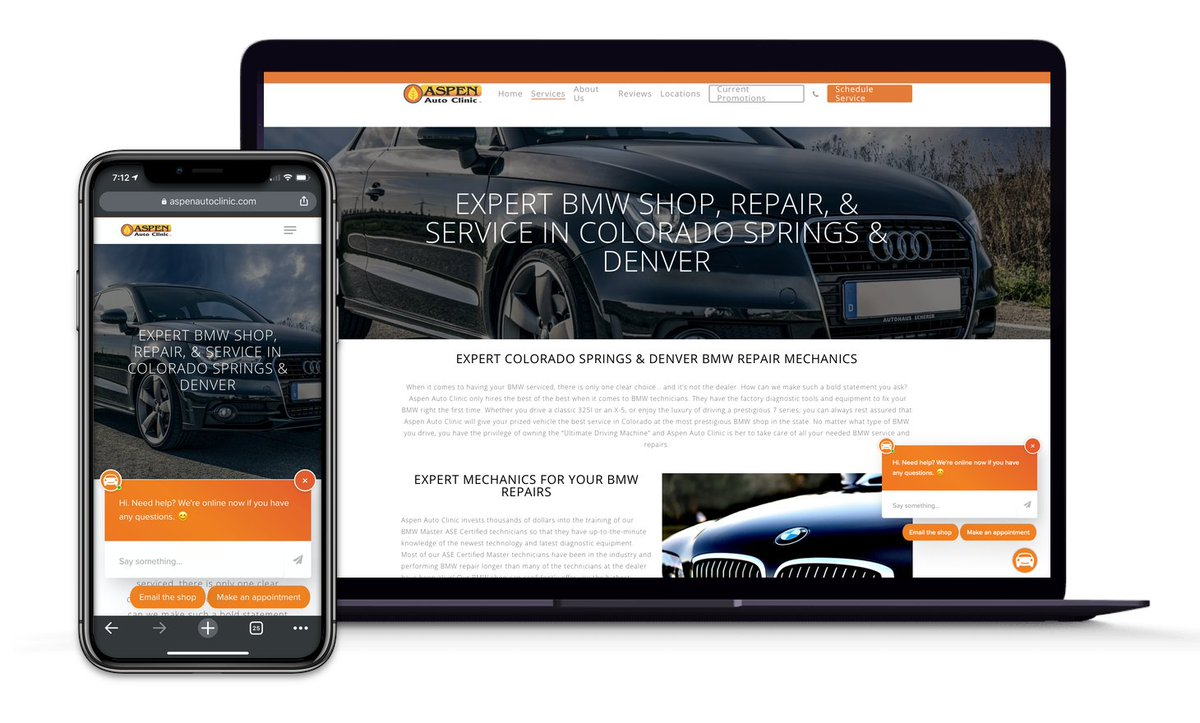 An automotive repair industry innovator turned to an advanced online chat platform to increase customer loyalty, car count, and average repair orders. Find out how. https://t.co/FP1dE5Hnwr https://t.co/QGtZ5j8LZb