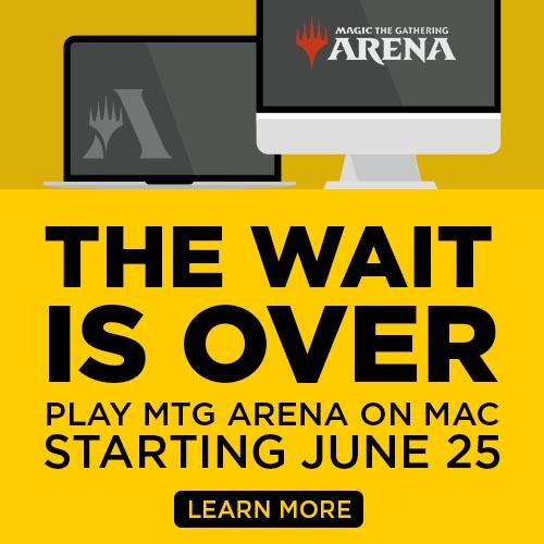 Anúncio do Arena para mac