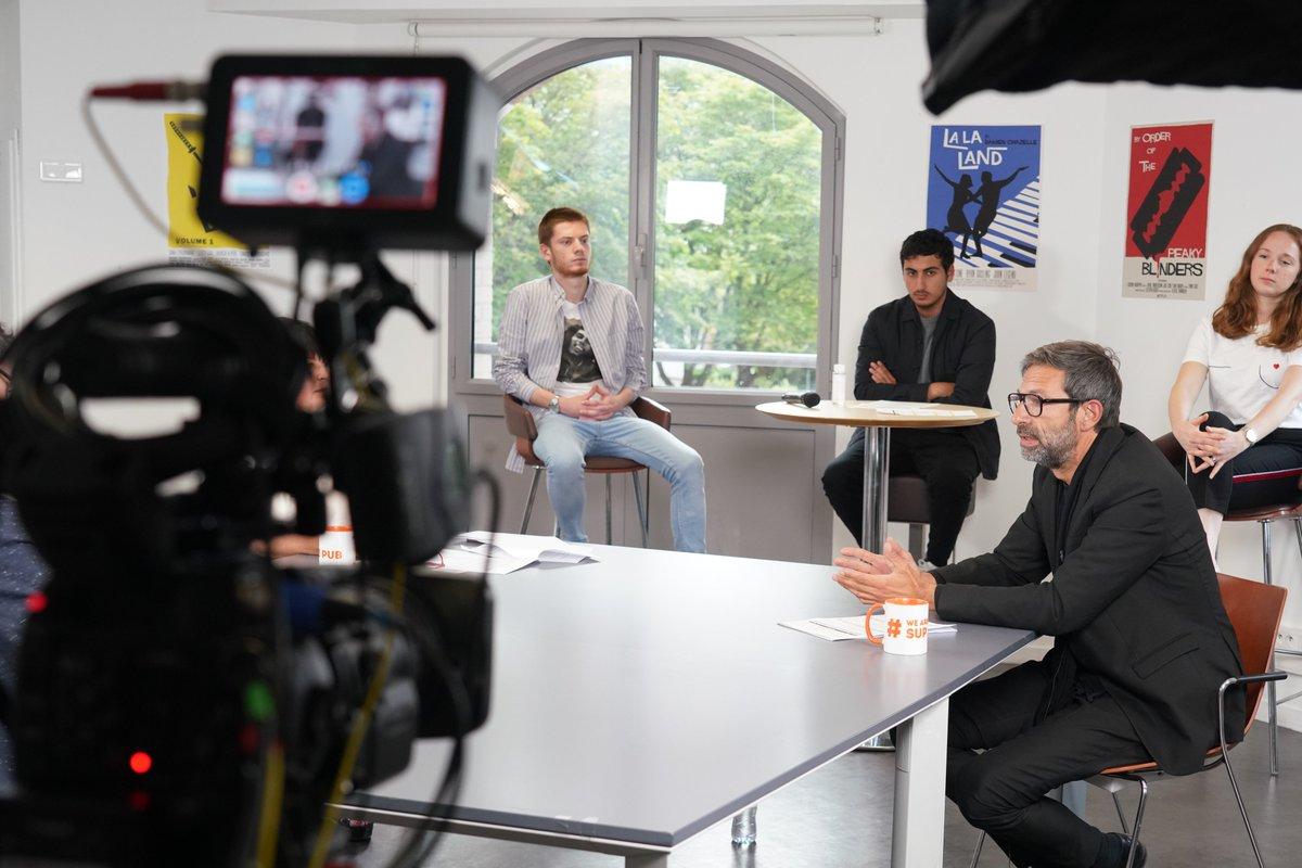 Etudiant.e.s à l'école et intéressé.e.s pour assister au tournage d'une émission de @laReclame sur le campus Eiffel le lundi 29 juin à 18h ? Contactez-nous en DM.  credits photo : realpotman https://t.co/JvOuLYDmJQ