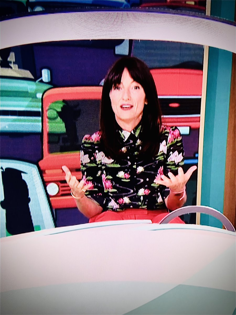 @ThisisDavina loved you being holly❤️as ever the best host 😘 x #ThisMorning #BigBrotherBestShowsEver