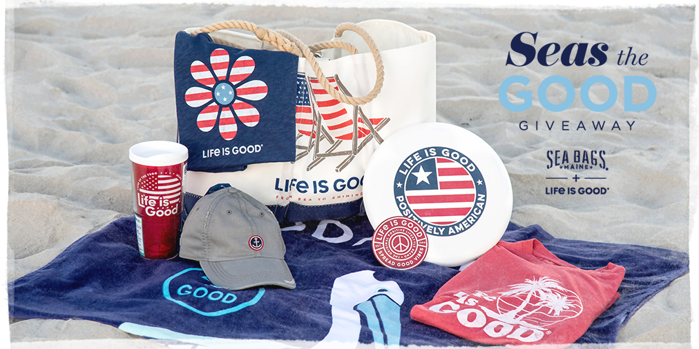 We've teamed up with @SeaBagsMaine for a #SeastheGood giveaway to celebrate the launch of our new collection. Enter at https://t.co/pWqpBsxnYi 🌊🌞 #ThisisOptimism #SeaBagsighting https://t.co/xQVVJkcYG2