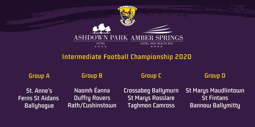 Competition Table | Official Wexford GAA