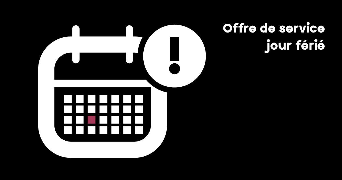[Horaires Fête nationale du Québec] ⚜️ 🚍 🚆 🚖  Voici l'offre de service du mercredi 24 juin pour ceux et celles qui utiliseront nos autobus, nos trains ou le transport adapté:  👉 https://t.co/xskIqYi6Gg https://t.co/QUqyBOdtnh