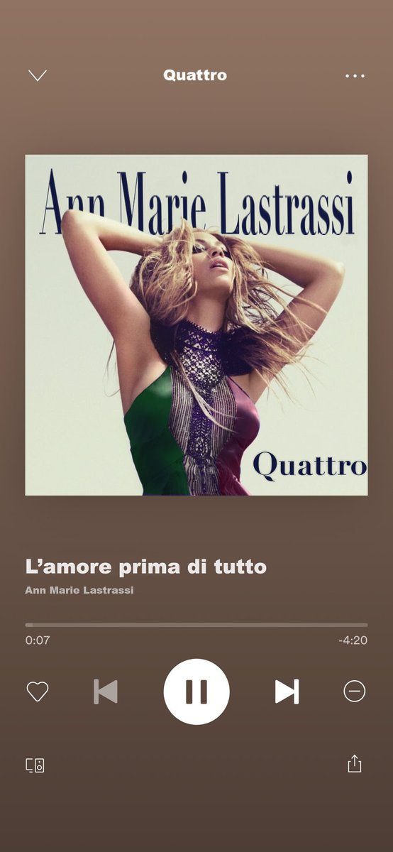 UPDATE : guys, Ann Marie's debut album in Italian resurfaced online! It's so sad how this album flopped and got censored by the reptilians