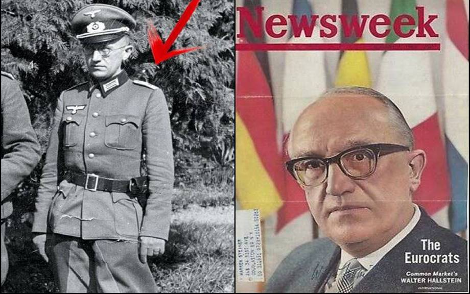 """Dispropaganda on Twitter: """"One of the founding fathers of the #EU and the  first president of the European Commission, Walter Hallstein, pictured here  during and after WW2.… https://t.co/btM9dPV7Y4"""""""