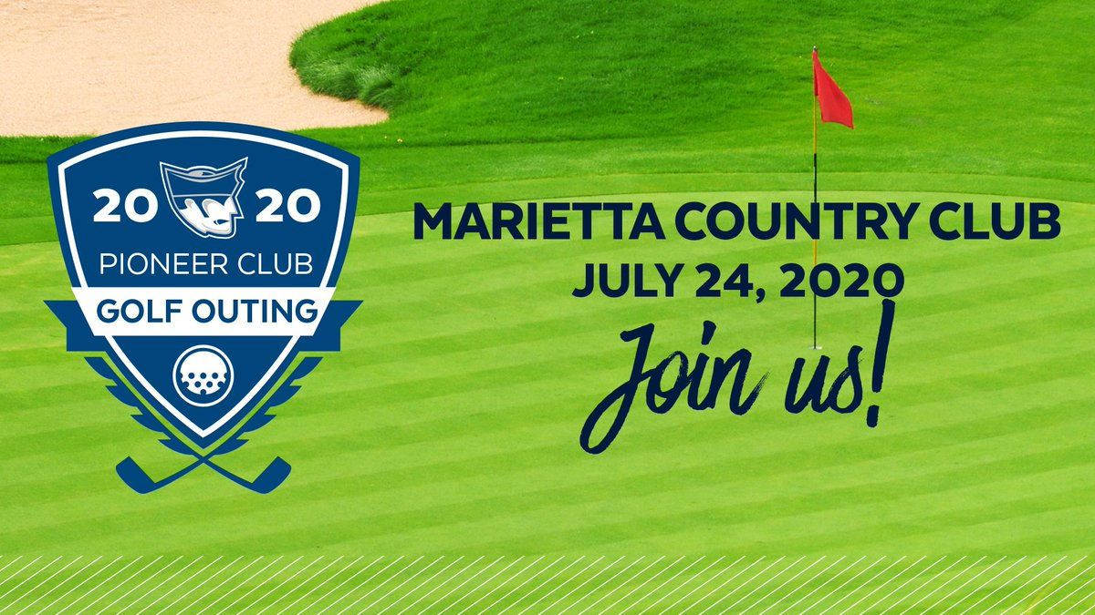 Join us at the Marietta Country Club on July 24th for the 35th annual Pioneer Club Golf Outing. #PioNation #BringForthAPioneer  Register online: https://t.co/4ozYBnD33L https://t.co/zfbswUSvo2