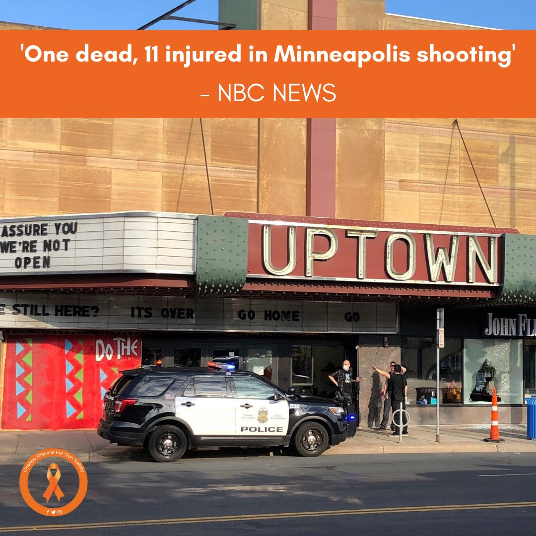 One person is dead and 11 more have been injured in a shooting in southwest Minneapolis, police confirmed early Sunday. More at https://t.co/onXHiE1Q1k.   #OrangeRibbonsForGunSafety https://t.co/kSgstA0rvq