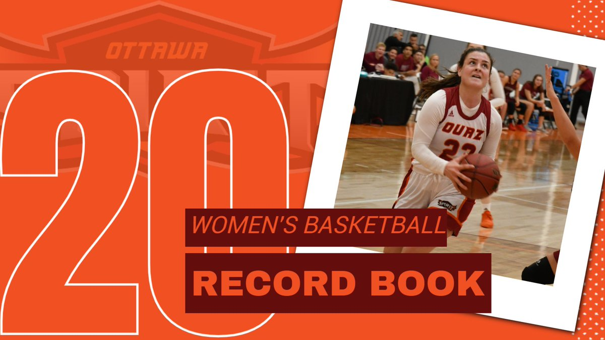 This week's Record Book Monday release comes from @OUAZWBB and features many new records set during the 2019-20 season.  📙: https://t.co/mmhgMrHR16  #WeAreOUAZ #OUAZbasketball https://t.co/DyoyumI1ZX