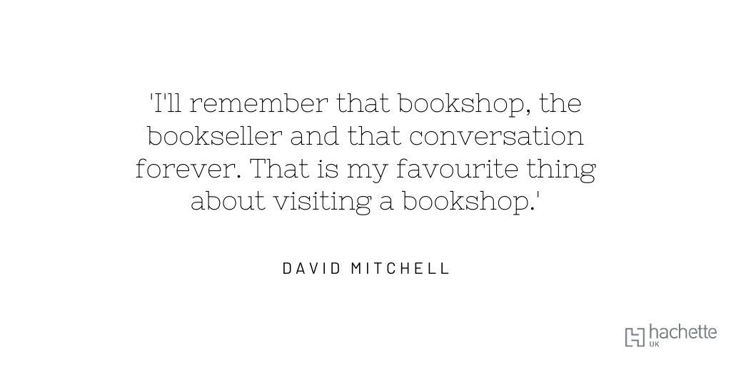 #IndieBookshopWeek @HodderBooks @david_mitchell @booksaremybag