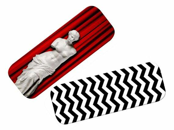 This double-sided Black Lodge inspired bookmark is a must for any Twin Peaks fan   #twinpeaks #agentcooper #blacklodge #davidlynch #killerbob