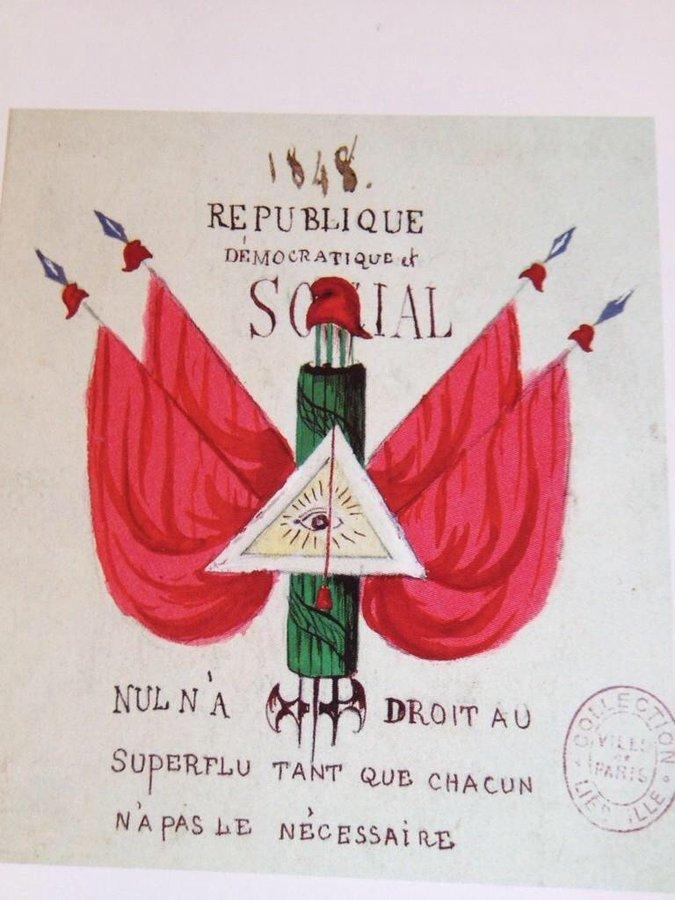 Juin 1848 22 juin 1848 Début de l'insurrection populaire de Juin 48 pour la république sociale et démocratique