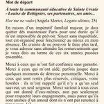 Image for the Tweet beginning: Mot de départ (précipité) au
