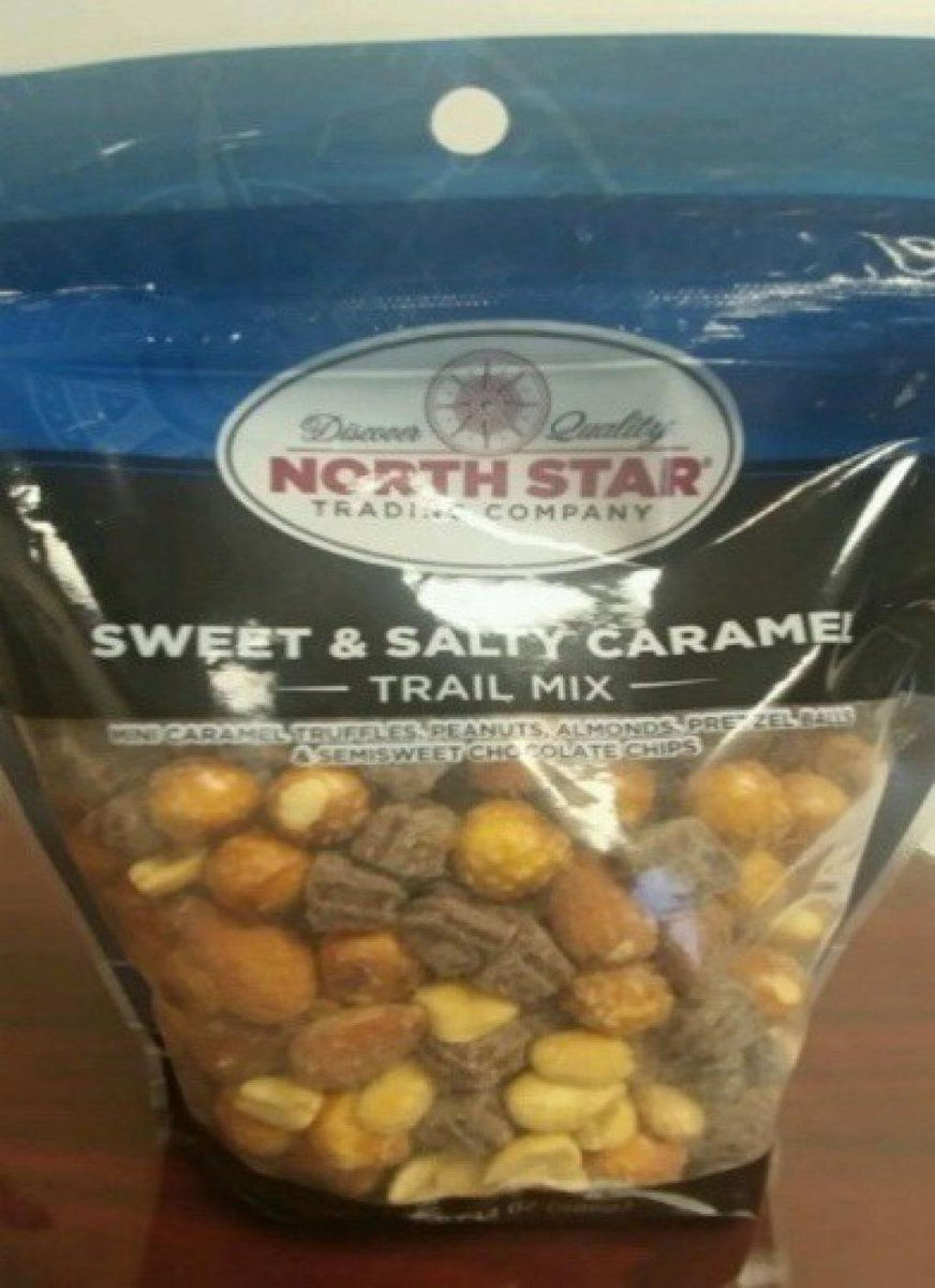 Flagstone Foods, LLC. Issues Voluntary Recall of North Star Sweet & Salty Caramel Trail Mix Due to Undeclared Allergen https://t.co/PZ67MN927L https://t.co/KJtltveR27