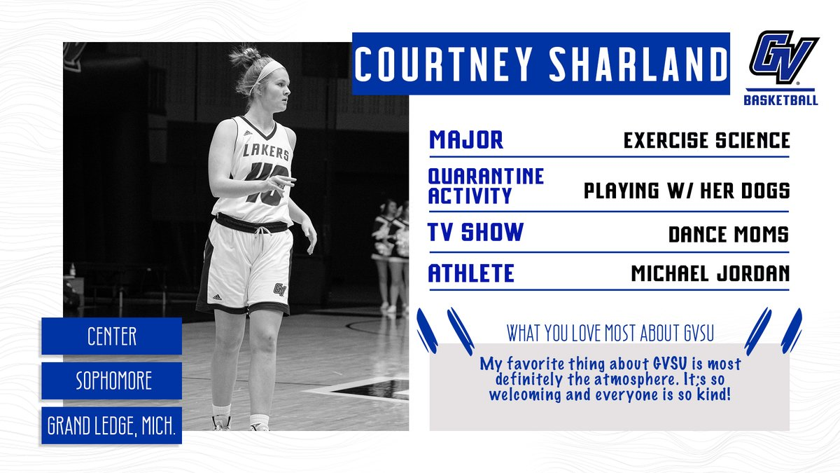 Player Profile: Sophomore Courtney Sharland  #AnchorUp 🏀 https://t.co/cGQmylo8b6