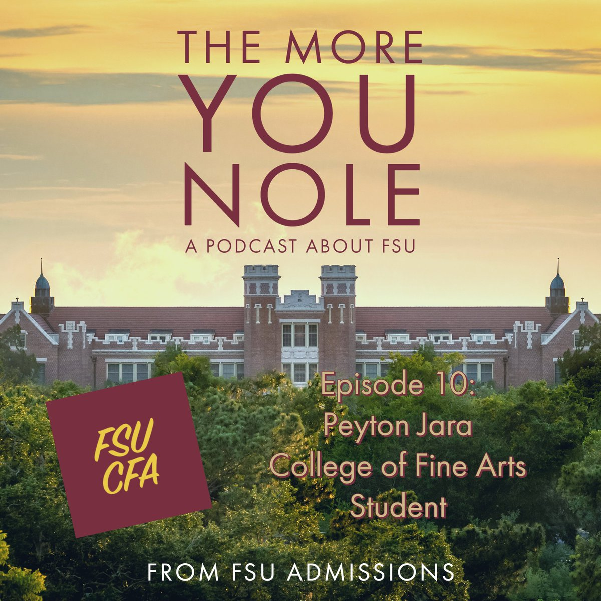 Fsu Admissions On Twitter It S New Podcast Day On This Week S Themoreyounole We Have Our First Ever Student Guest Peyton Jara Of The College Of Fine Arts Cfafsu Interior Architecture Design