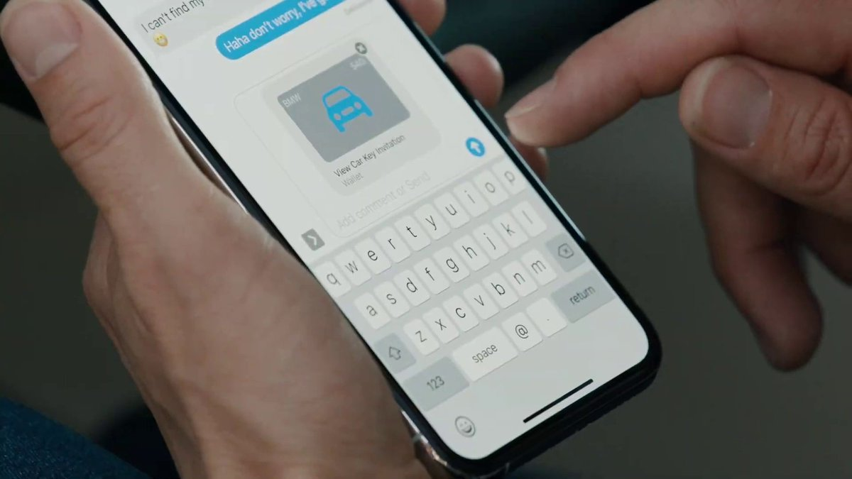 iPhone users will be able to text a car key to friends in iOS 14, Apple says