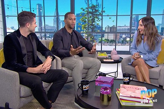 Did you know that @nfl star and former minuteman Victor Cruz '10 is now a TV host? Catch him on @enews' @popofthemorning: https://t.co/O9cxYOrVDX  #WhereAreTheyNow #UMass2020 https://t.co/7ovc3MXiR3