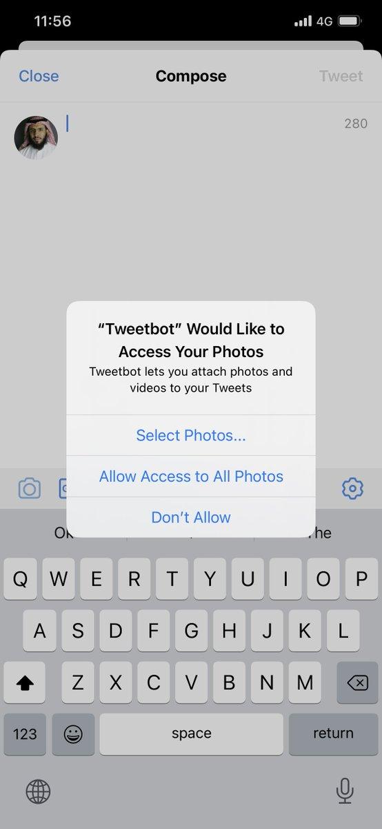 صورة من iOS 14 من الامور الجميلة تقدر تعطي التطبيق صلاحية لصور محددة فقط https://t.co/XAK7FqWnXa