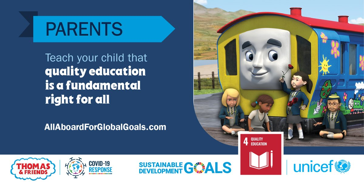Children are learning about the #GlobalGoals during #COVID19 in 7 languages thanks to @ThomasFriends! Visit the @UN's creative community outreach website to learn more about this & other exciting collaborations with storytellers. bit.ly/2Nj8JMR