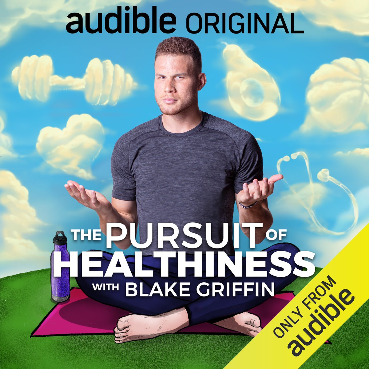 'The Pursuit of Healthiness' coming to @audible_com August 2020. I partnered with @OBB on this series to hopefully make the health and wellness landscape a little less daunting, and a lot more fun. Exercise Your Curiosity. https://t.co/Axp3SOfglF