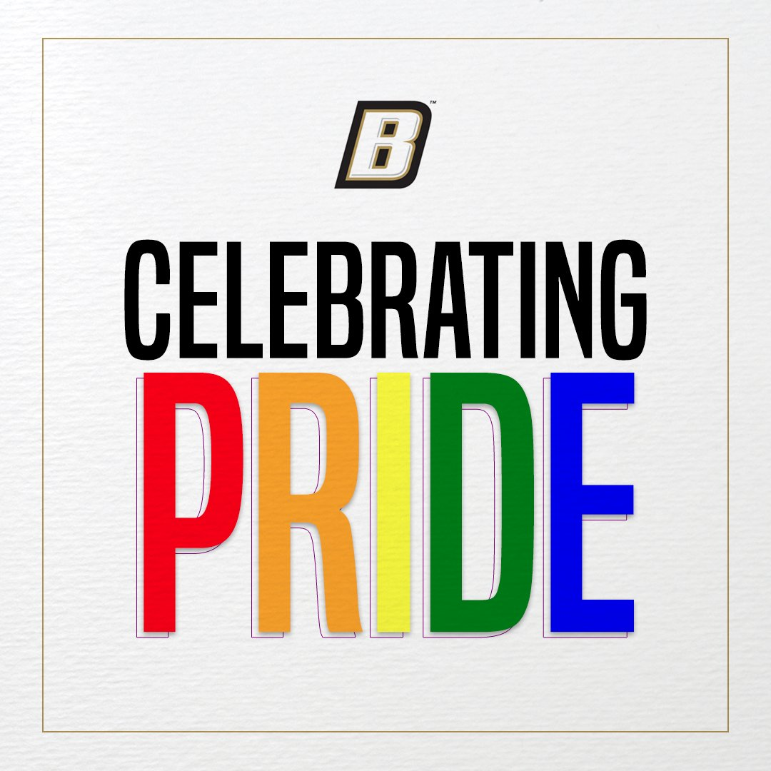 June is #PrideMonth and Bryant Athletics celebrates equality, inclusion, and respect for all student-athletes, coaches, administrators, staff members, and fans without regard to sexual orientation or gender identity. https://t.co/ZWUAHCuJdL