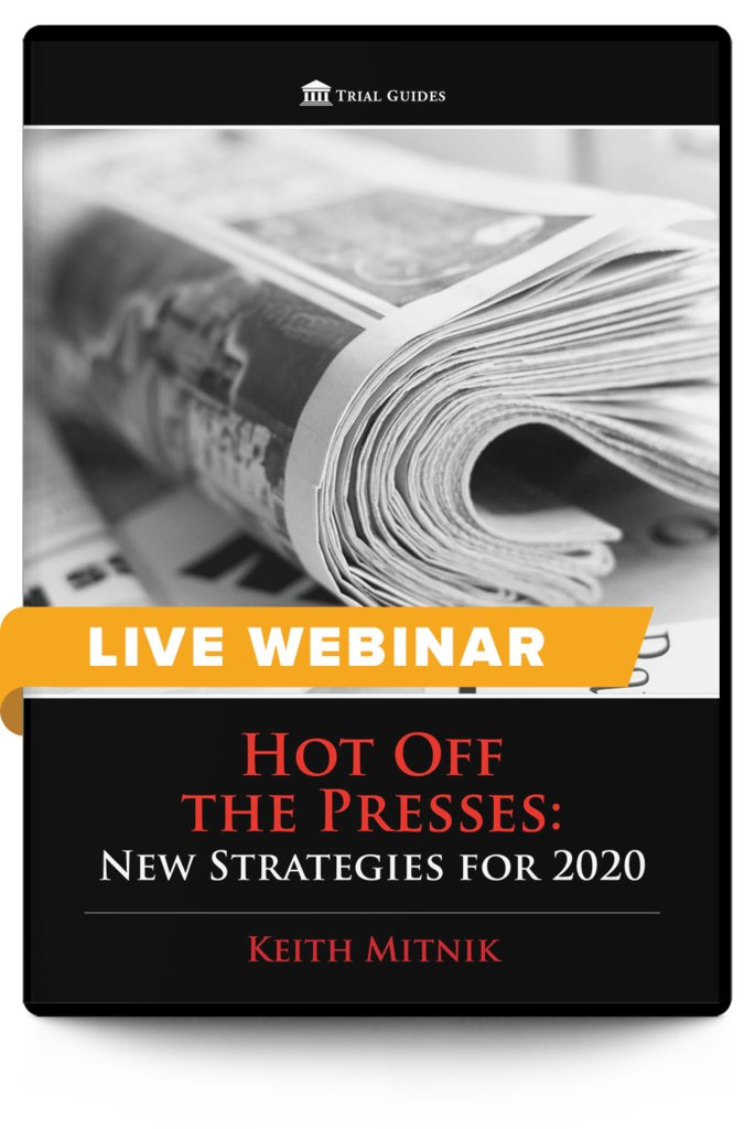 New Webinar!  Hot Off the Presses: New Strategies for 2020 - With Keith Mitnik  June 24, 2020 ♦ 12:30 PM ET ♦ 9:30 AM PT  Register and learn more here: https://t.co/7gykDmcu0b https://t.co/Qb5VkaZ7Fe