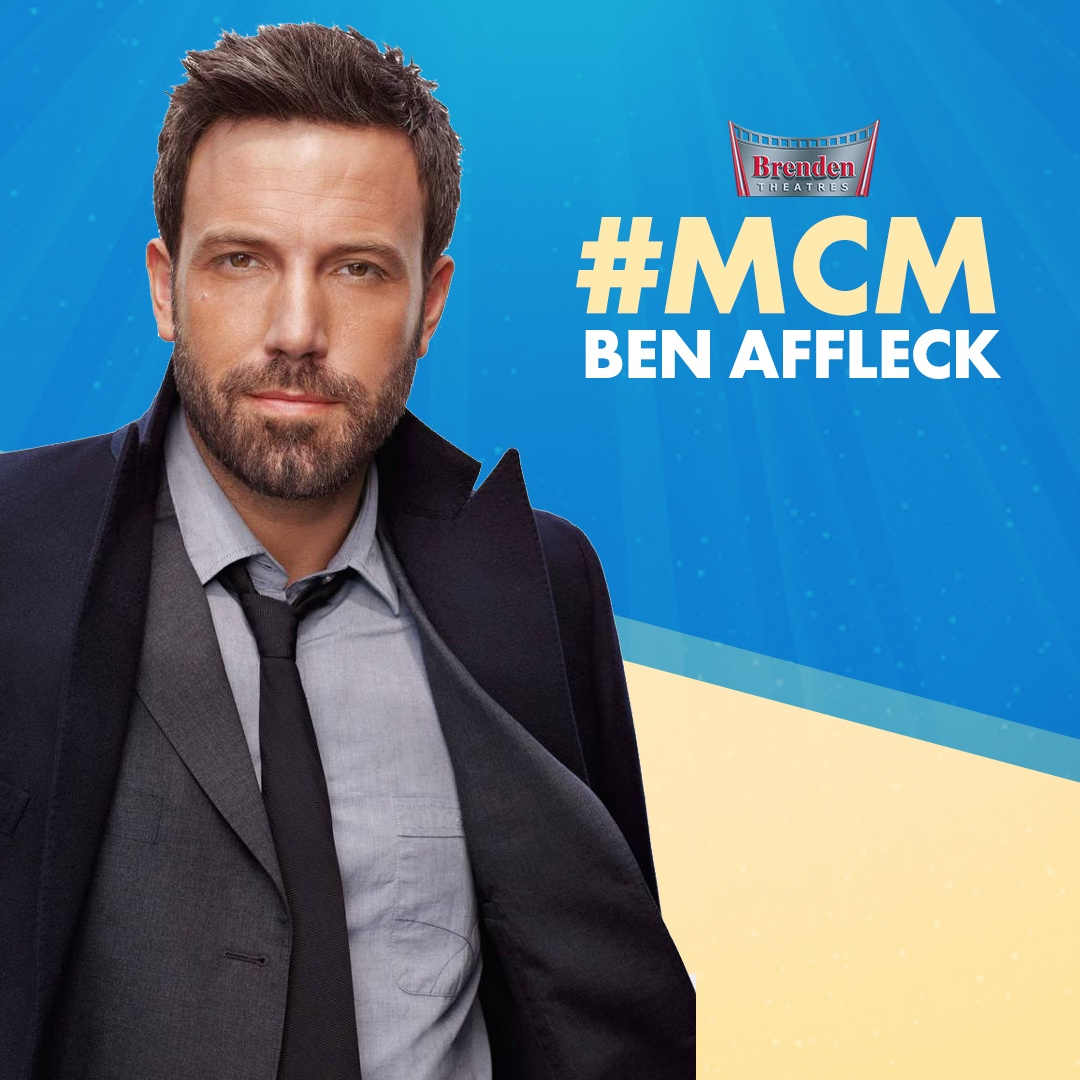 Our #MCM this week ages like a fine wine! Let us know your favorite role played by Ben Affleck. https://t.co/SenrvJfjpH